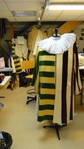 Costume avant finitions
